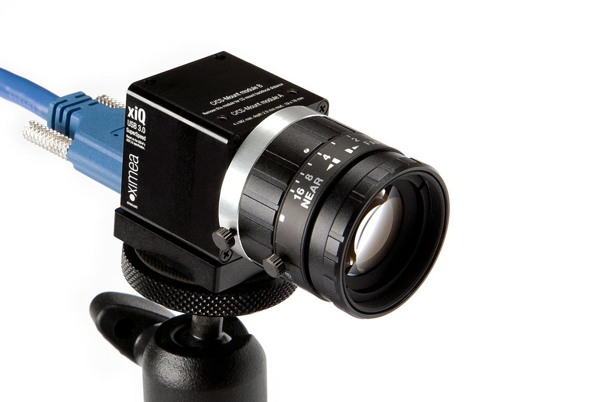 ... esperan de las cámaras de visión industrial de Ximea, incluyendo